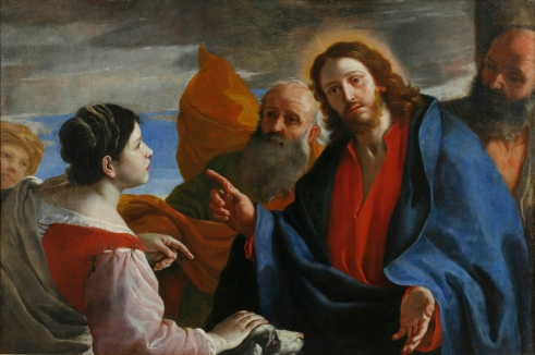 Mattia Preti (Il Cavalier Calabrese), Christ and the Canaanite Woman, c. 1665-70