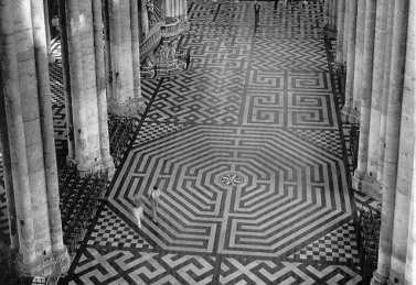 Labyrinth at Amiens Cathedral