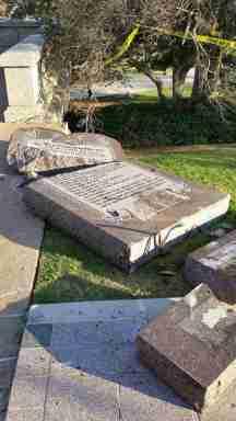 Oklahoma Ten Commandments Monument Destroyed