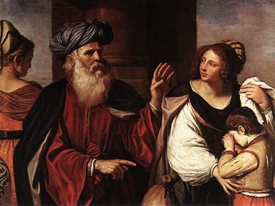 AbrahamBanishesHagar-Barbierei-1657