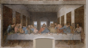 """The Last Supper"" (1494-98); Leonardo Da Vinci"