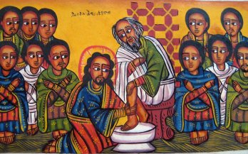 JesusWashingDisciplesFeet-EthiopianIcon
