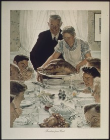 Freedom From Want (1942, Norman Rockwell)