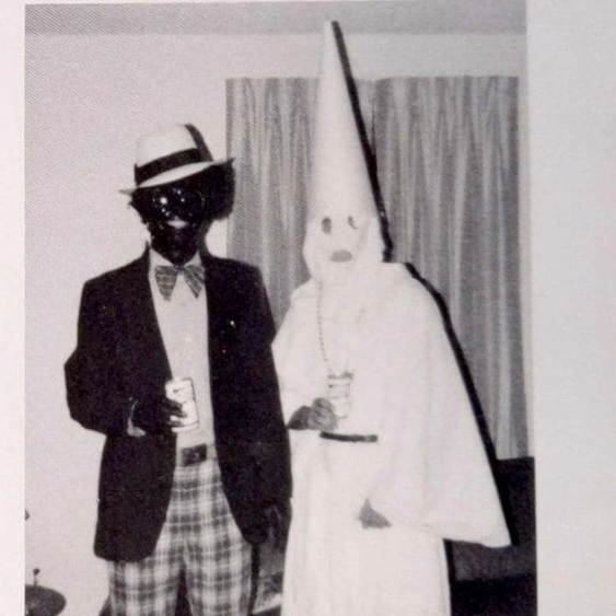 Florida Governor Ralph Northam in Blackface,  1984